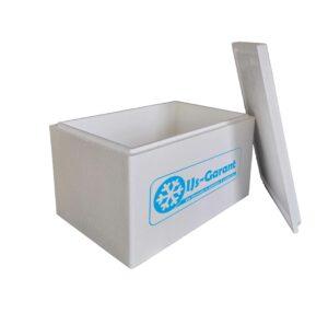 Thermobox groot 60 liter bestellen piepschuim doos isolatie box
